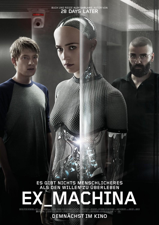 دانلود فیلم Ex Machina 2015 فراماشین با دوبله فارسی